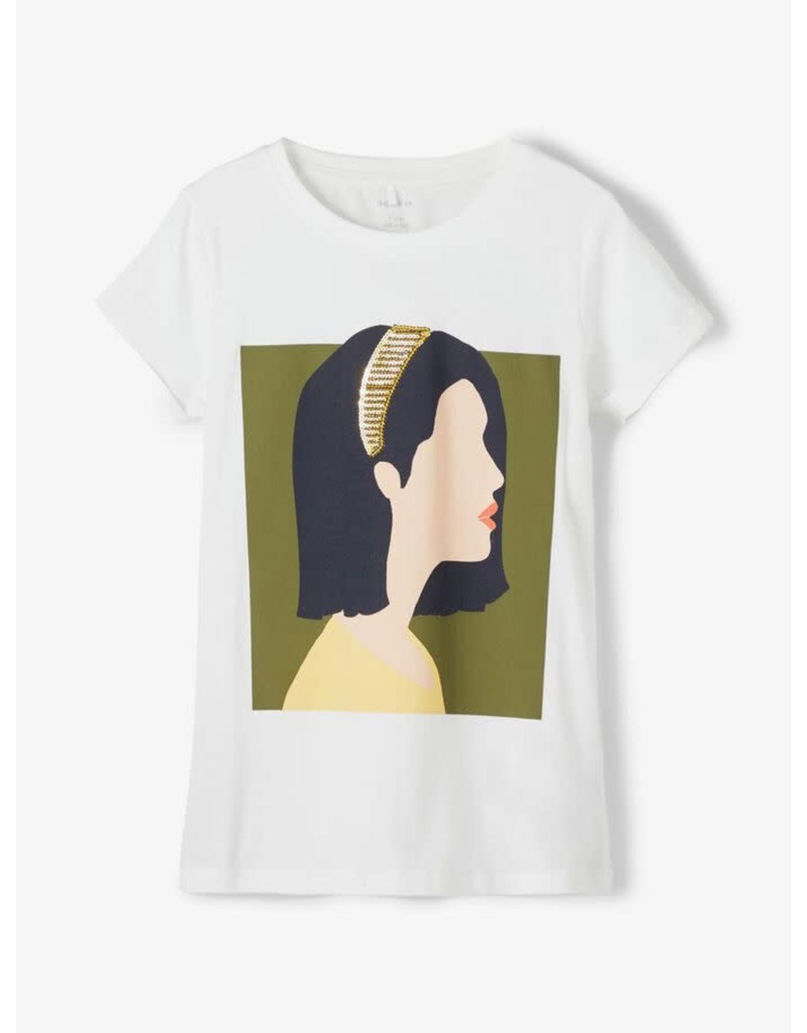 Name It Super toffe witte meisjes t-shirt