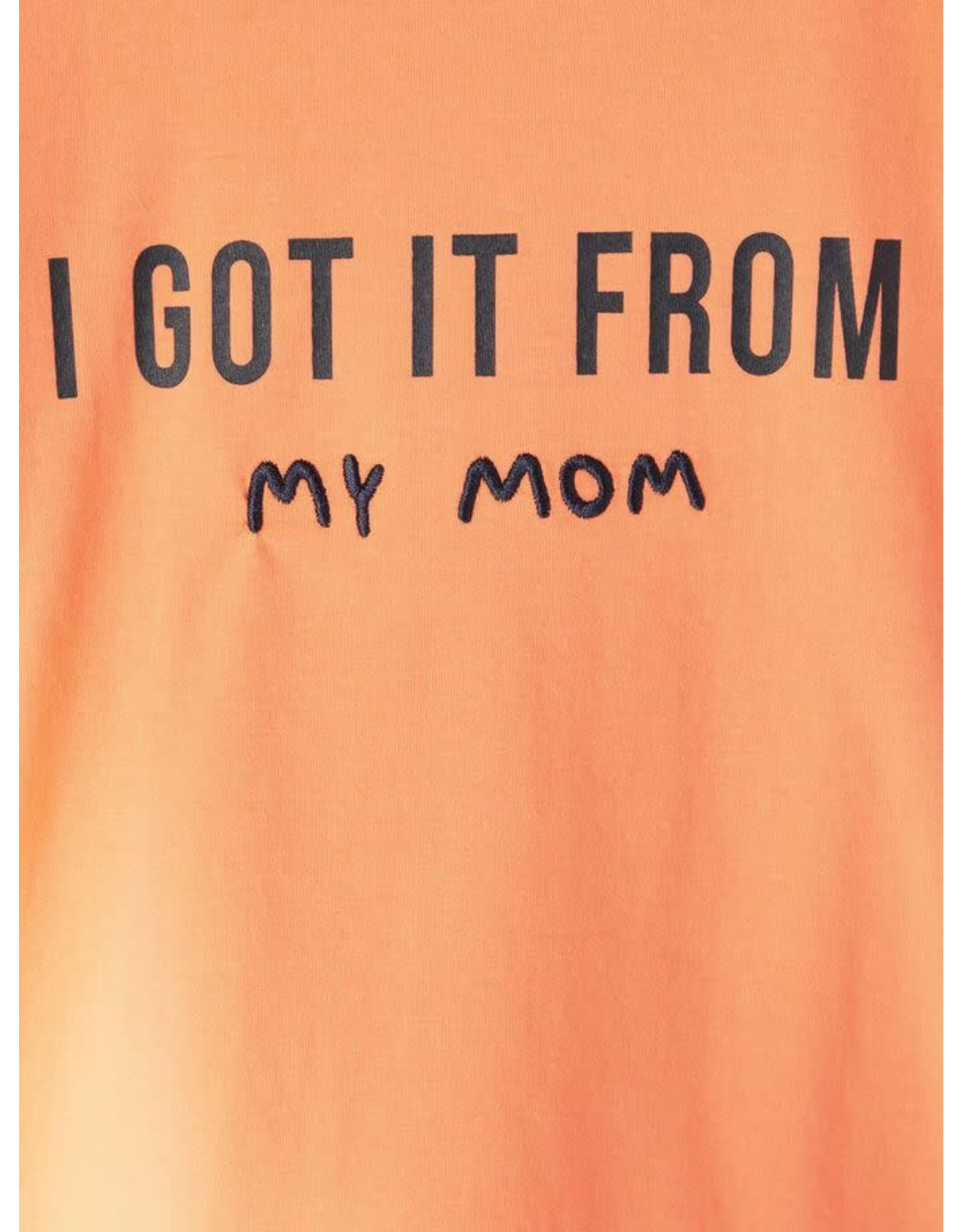 """Name It Basis t-shirt """"I got this from my mom"""""""