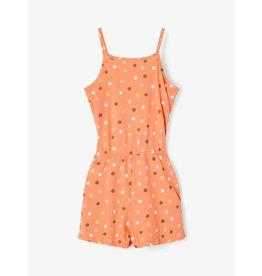 Name It Zomerse jumpsuit oranje met stipjes