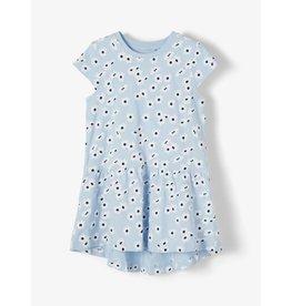 Name It Blauw zomerkleedje met bloemetjes