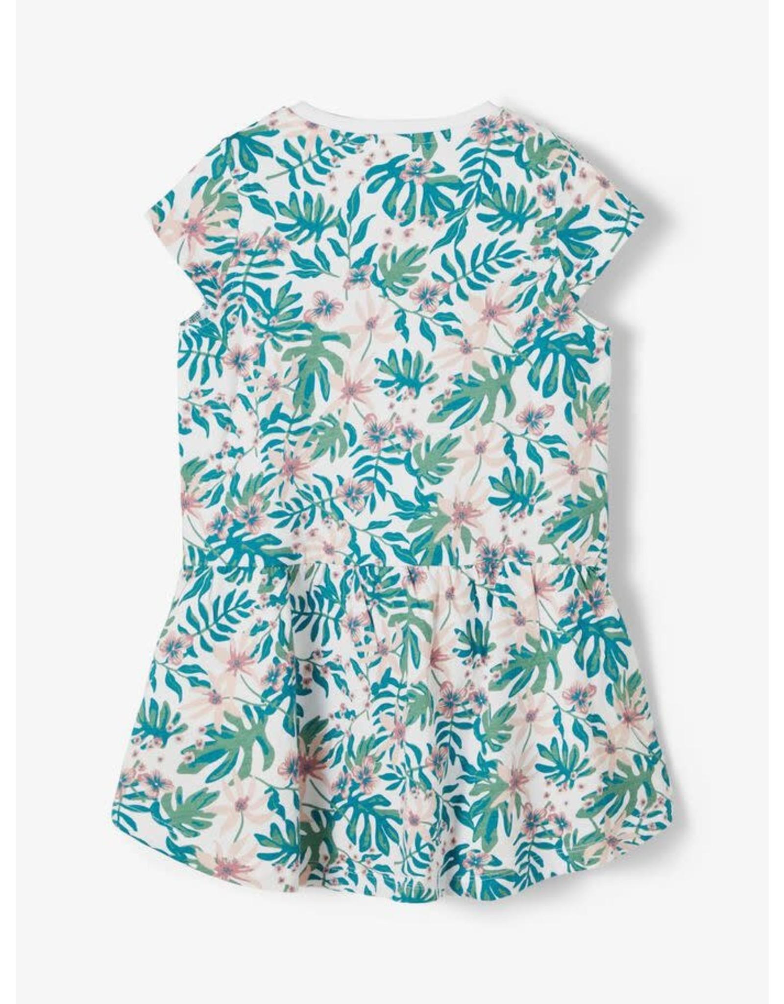 Name It Zomerkleedje met tropische print
