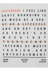 """Name It Witte bedrukte """"skate"""" t-shirt"""