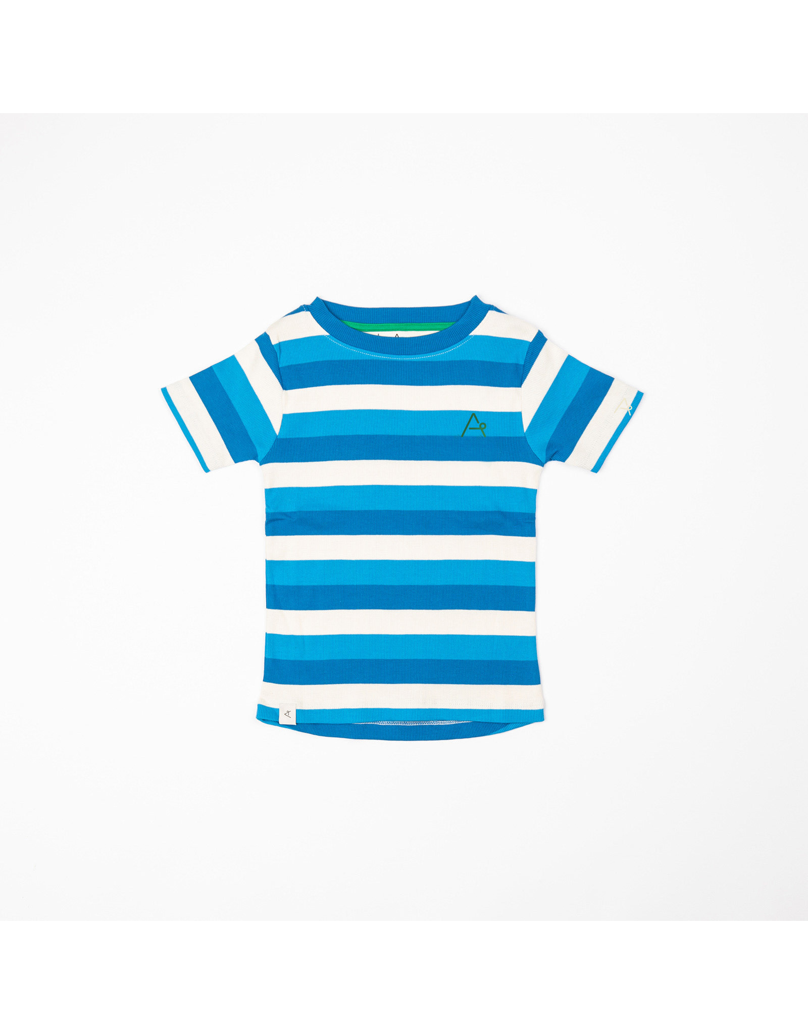 ALBA of Denmark Blauw-wit gestreepte t-shirt