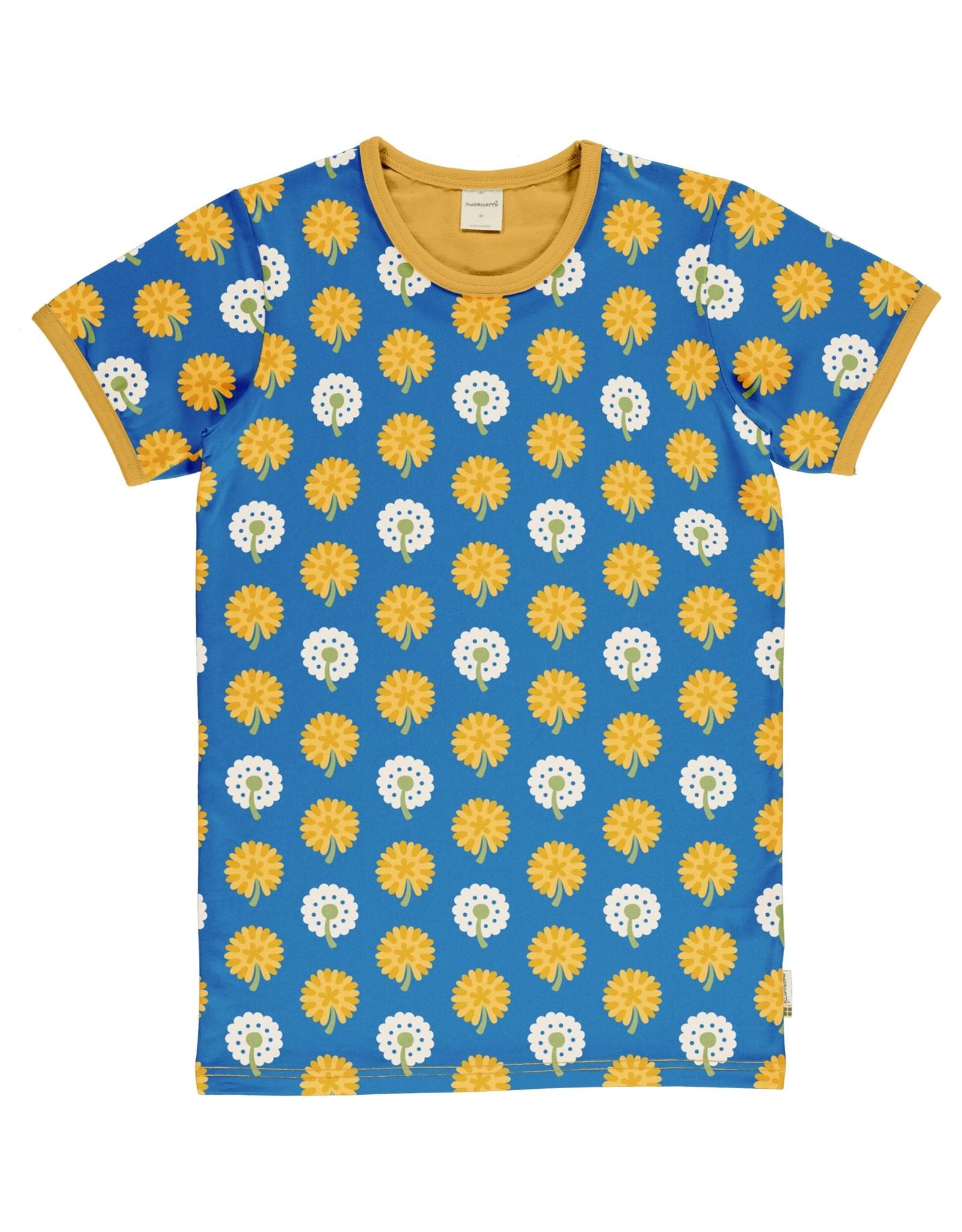 Maxomorra VOLWASSENEN t-shirt met paardebloem print