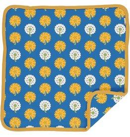 Maxomorra Baby deken met zonnige bloemen