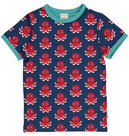 Maxomorra T-shirt met octopus print