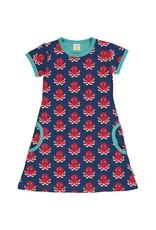 Maxomorra A-lijn kleedje met octopus print