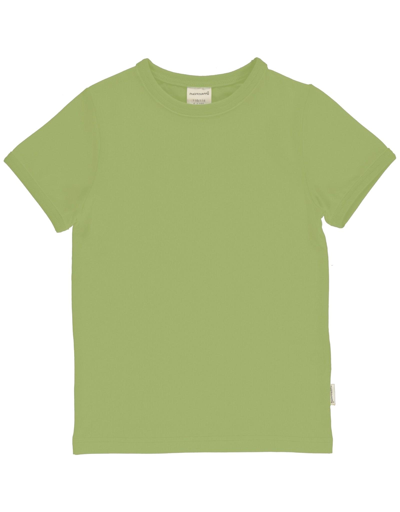 Maxomorra Effen groene t-shirt