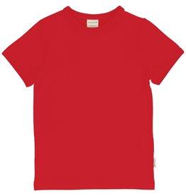 Maxomorra Effen rode t-shirt