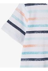 Name It Witte basis t-shirt met streepjes