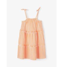 Name It Zomerkleedje met oranje streepjes