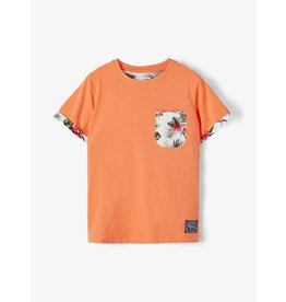 Name It Oranje tropische t-shirt