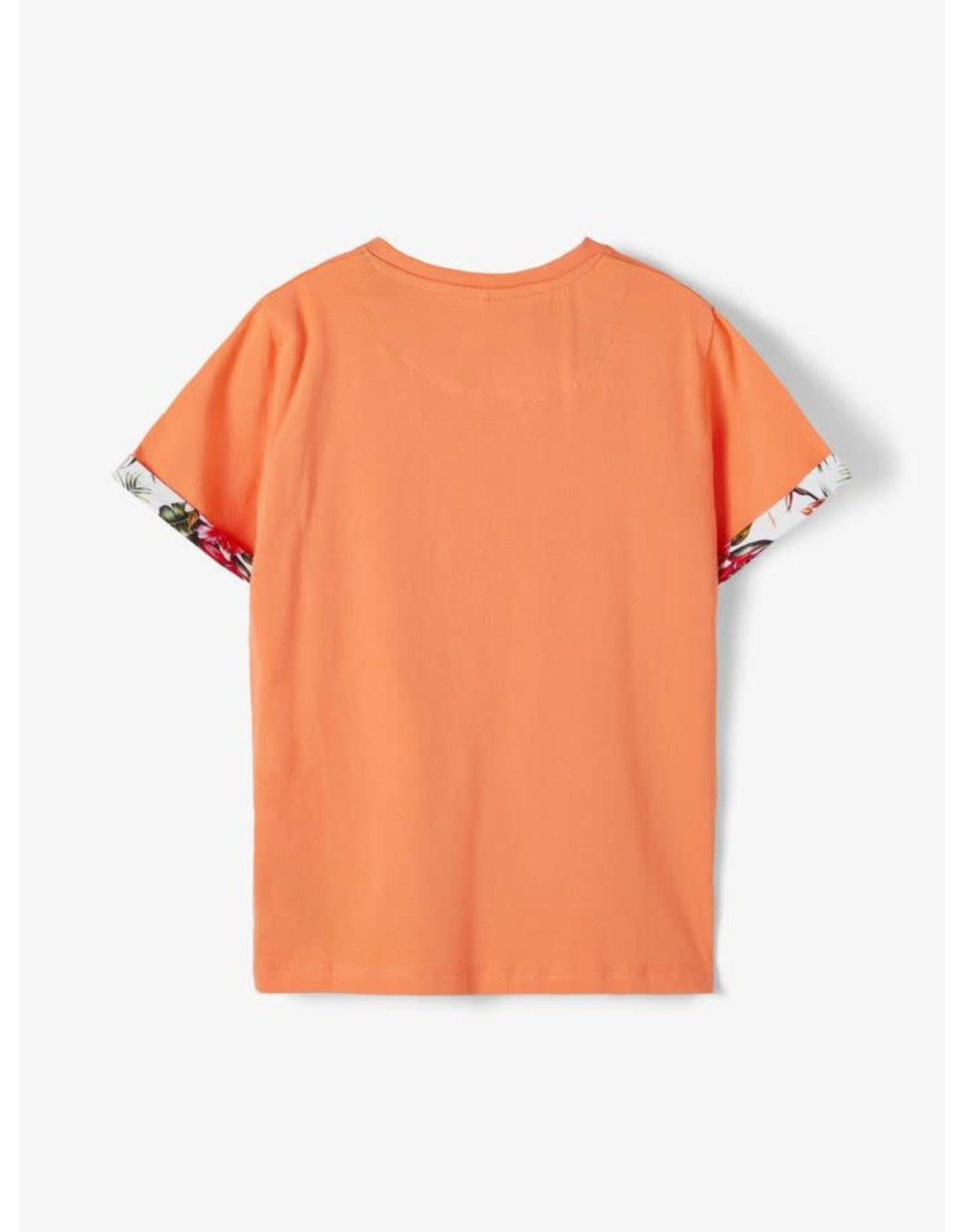 Name It Oranje tropische t-shirt