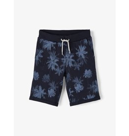Name It Donkerblauwe palmbomen short