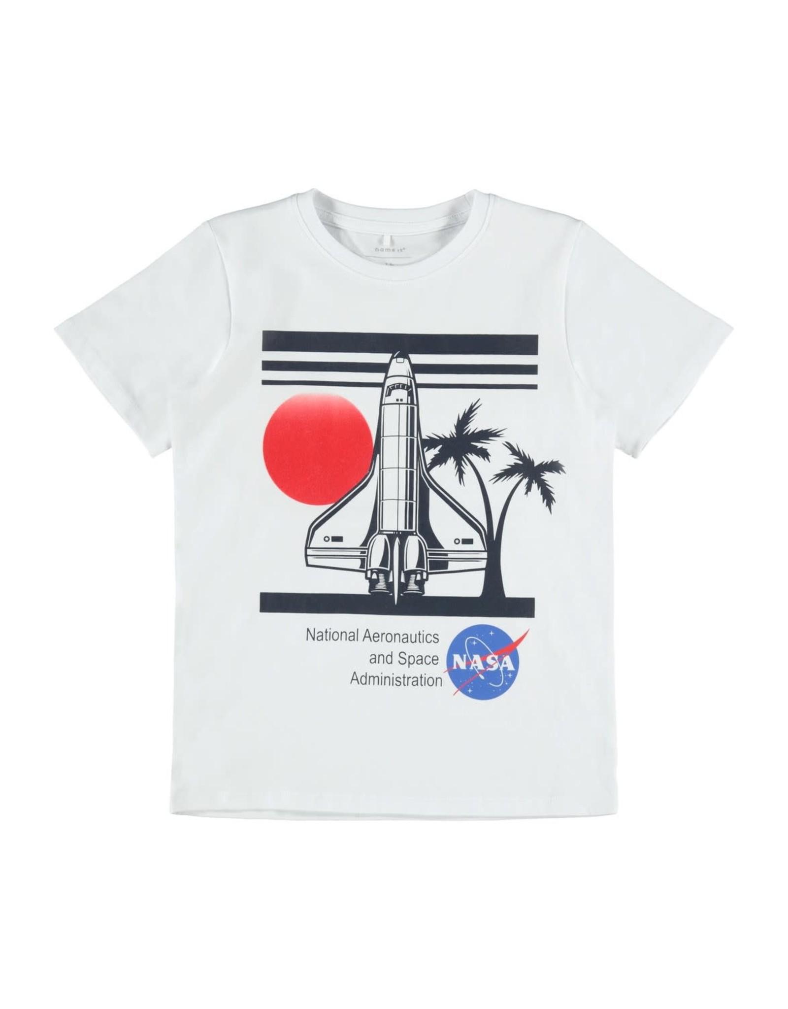 Name It Witte stoere NASA t-shirt van Name It