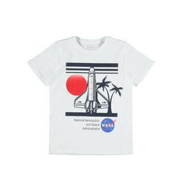 Name It Witte stoere NASA t-shirt van Name It