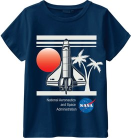 Name It Blauwe stoere NASA t-shirt