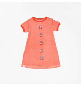 ALBA of Denmark Sponsen rooskleurig retro kleedje