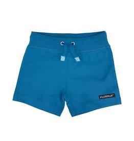 Villervalla Super zachte blauwe unisex short