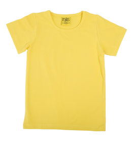 Duns Basis gele unisex t-shirt