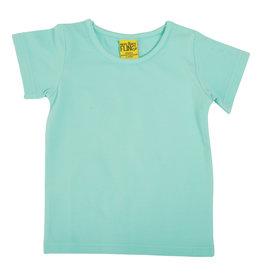 Duns Basis aqua blauwe unisex t-shirt
