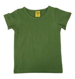 Duns Basis donkergroene unisex t-shirt