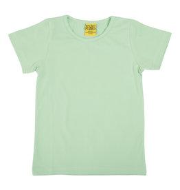 Duns Basis lichtgroene unisex t-shirt