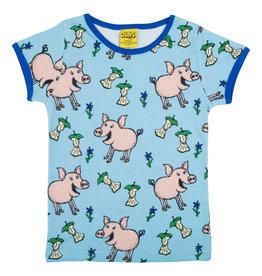 Duns T-shirt met varkentjes