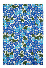 Duns VOLWASSENEN Kleedje met blauwe bloemen