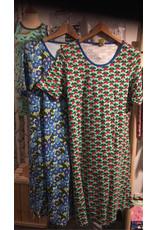 Duns VOLWASSENEN kleedje met radijsjes