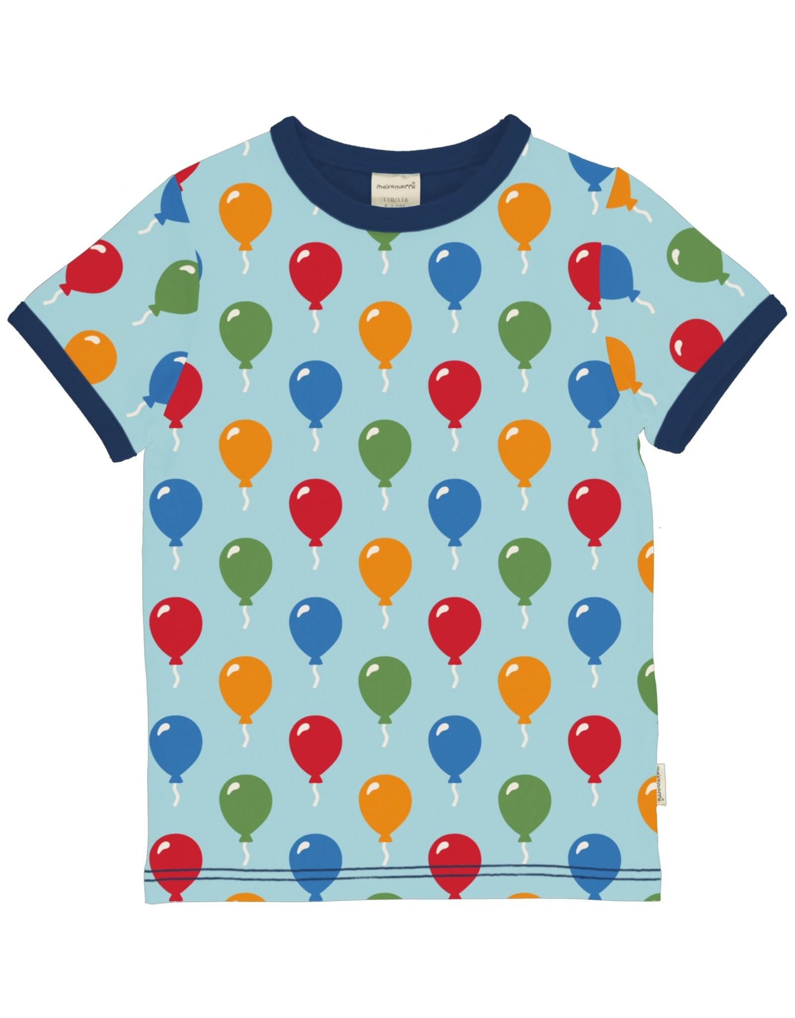 Maxomorra Unisex t-shirt met ballonnen