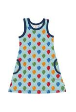 Maxomorra  Mouwloze A-lijn jurk met ballonnen