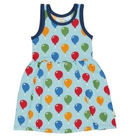 Maxomorra Mouwloos zwierjurkje met ballonnen print