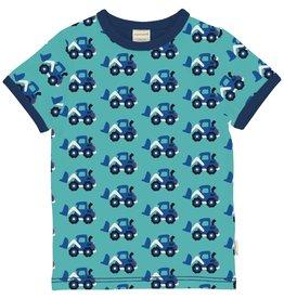 Maxomorra T-shirt met graafmachines
