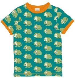 Maxomorra Unisex t-shirt met kameleon print