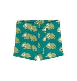 Maxomorra Boxer Short met kameleon print