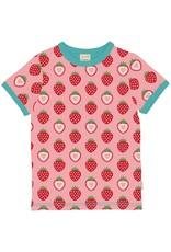 Maxomorra T-shirt met aardbeien print