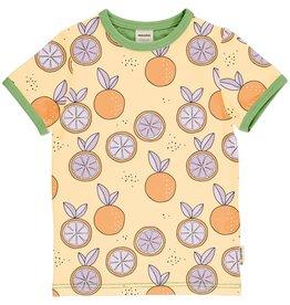 Meyadey T-shirt met zomerse citrusvruchten