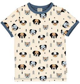 Meyadey Unisex t-shirt met honden