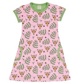 Meyadey A-lijn kleedje met giraffen