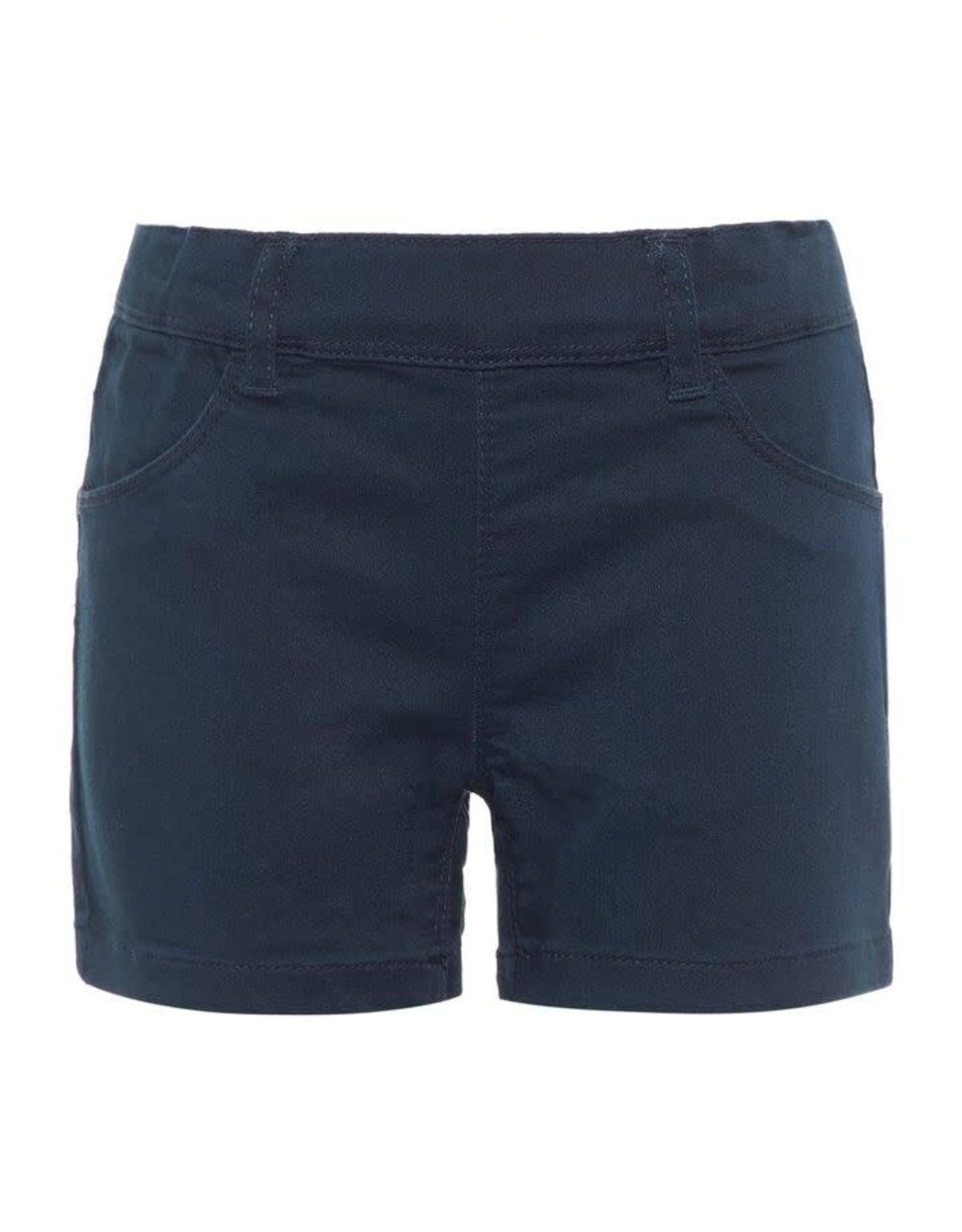 Name It Donkerblauwe meisjes slim fit short
