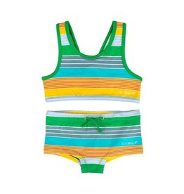 Villervalla Zonnige vrolijke streepjes bikini