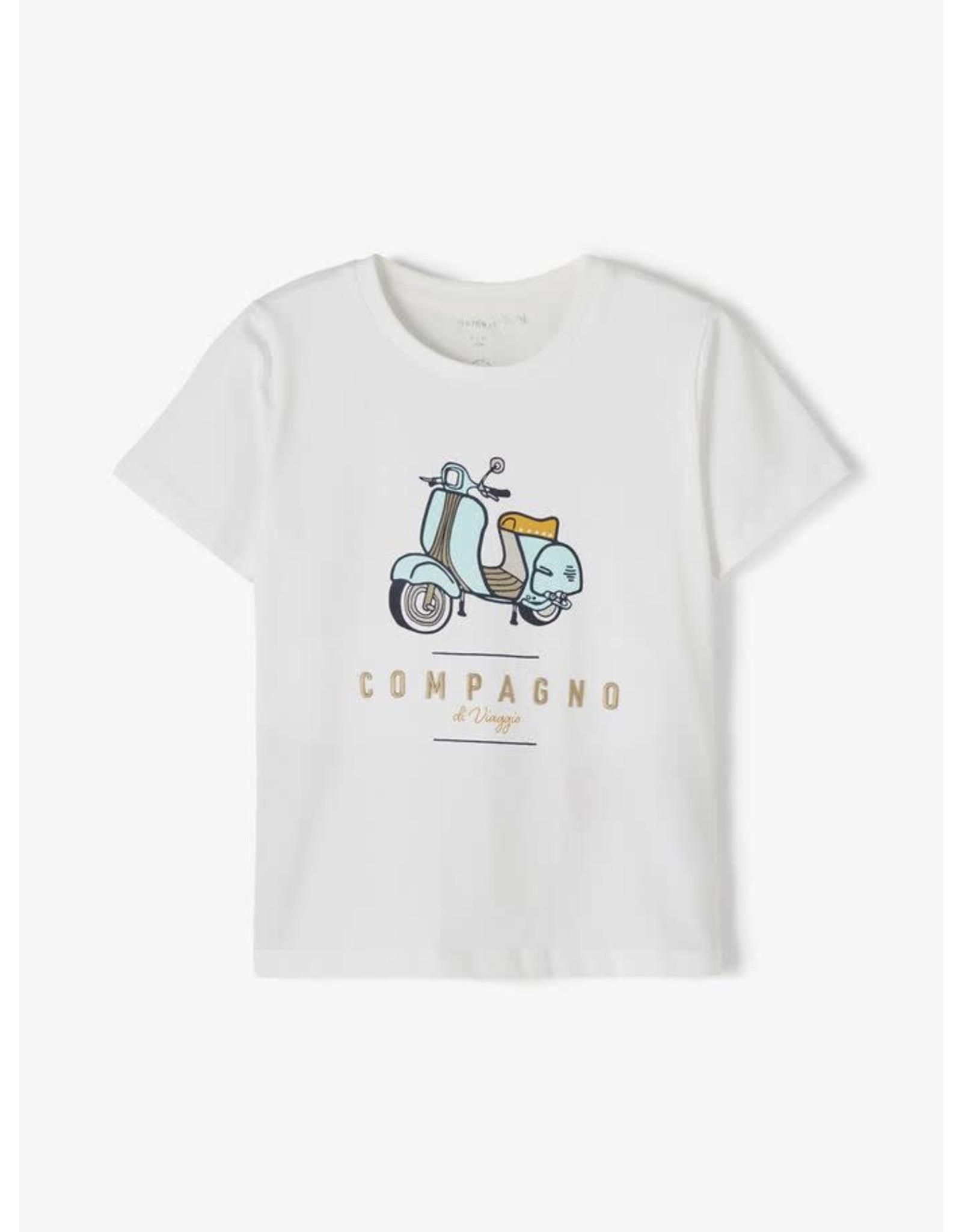Name It Super coole witte Vespa t-shirt