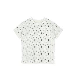 Name It Witte t-shirt met blauwe ananassen