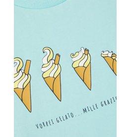 Name It Blauwe t-shirt met ijsjes