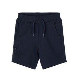 Name It Blauwe katoenen short