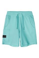 Name It Aqua blauwe katoenen short