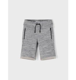 Name It Super zacht licht grijs gemeleerde short