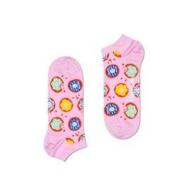 Happy Socks MAAT 36/40 - lage roze donut sokken
