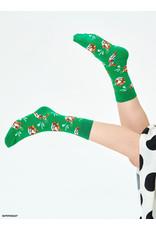 Happy Socks MAAT 36/40 - Groene tijger sokken
